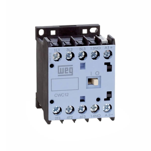 Contator Cwc012.10-30C03 12A 24Vdc Mini Weg (12486694)
